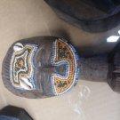 vintage handmade tribal african wood statue