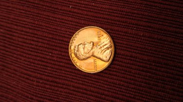 1955s wheat cent gem red