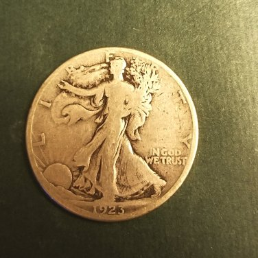 1923s walking liberty half key date coin