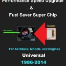 Universal Performance IAT Sensor Resistor Chip Mod Increase MPG HP Speed Power Super Fuel Gas Saver