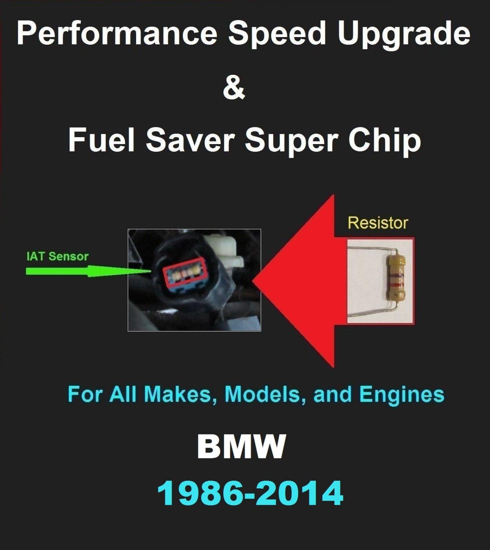 BMW Performance IAT Sensor Resistor Chip Mod Kit Increase MPG HP Speed Power Super Fuel Gas Saver
