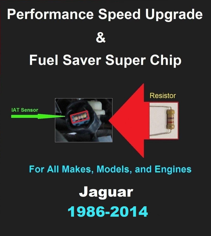 Jaguar Performance IAT Sensor Resistor Chip Mod Kit Increase MPG HP Speed Power Super Fuel Gas Saver