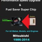 Mitsubishi Performance IAT Sensor Resistor Chip Mod Increase MPG HP Speed Power Super Fuel Gas Saver