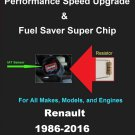 Renault Performance IAT Sensor Resistor Chip Mod Kit Increase MPG HP Power Super Fuel Gas Saver