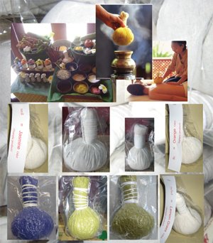 Herbal Massage Compress Ball (Herbal Massage and spa Product)