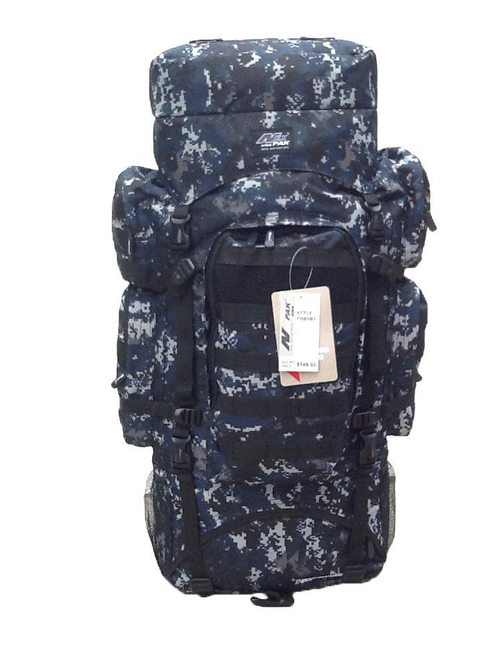 "34"" 5200 cu. in. Tactical Hunting Camping Hiking Backpack THB001 DIGI CAMO DMBK (MATTERHORN)"