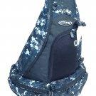 """21"""" 1700cu.in. Tactical Sling Shoulder Hiking Backpack BB002 Digital Camouflage DMBK (Navy Blue)"""