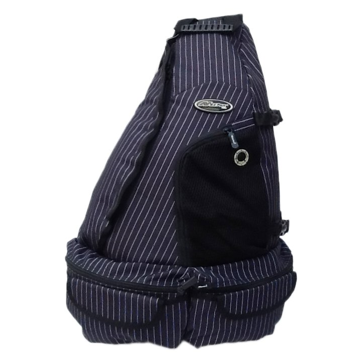 "21"" 1700cu.in. Tactical Sling Shoulder Hiking Backpack BB002 DARK BLUE - PIN STRIPE"