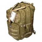 "21"" 3400cu.in. NexPak Tactical Hunting Camping Hiking Backpack ML121 TAN"