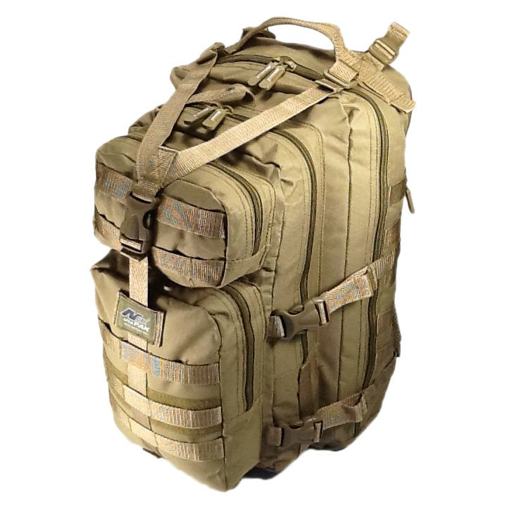 "19"" 2400cu.in. NexPak Tactical Hunting Camping Hiking Backpack ML118 TAN"