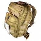 "12"" 800cu.in. NexPak Tactical Sling Shoulder Hiking Backpack TL312 TAN"