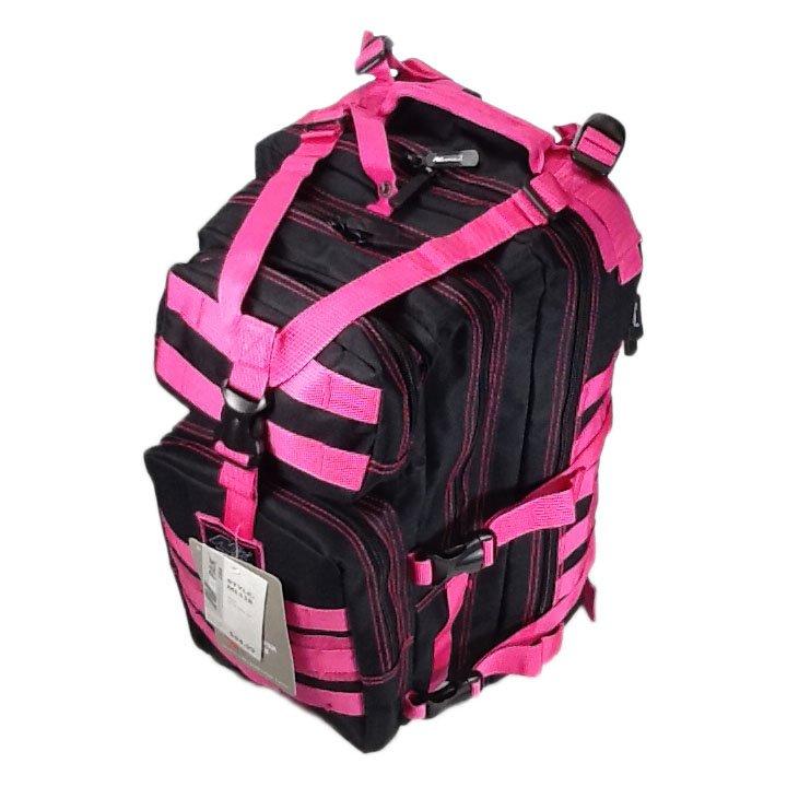 "19"" 2400cu.in. NexPak Tactical Hunting Camping Hiking Backpack ML118 HPKBK Pink"