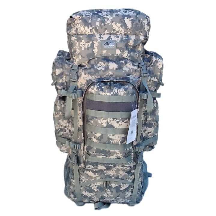 "34"" 5200cu in NexPak Tactical Hunting Camping Hiking Backpack THB001 DM CAMO"