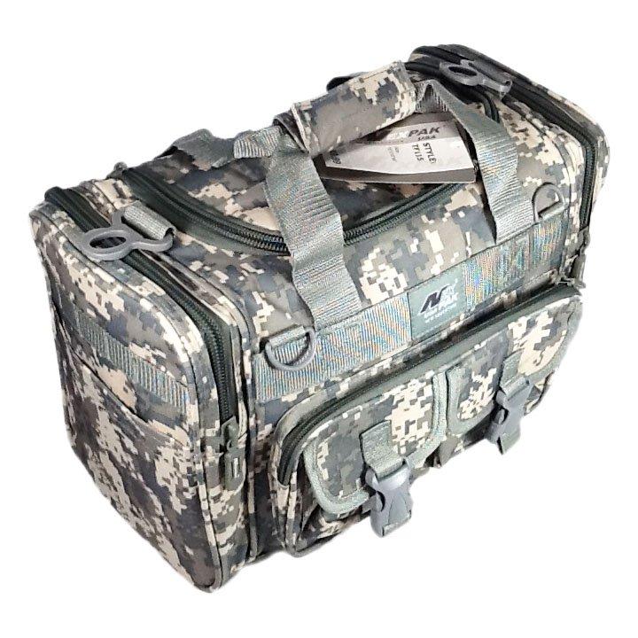 "15"" 1200cu. in. NexPak Tactical Duffel Range Bag TF115 DM Digital Camouflage"