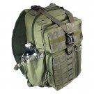 """18"""" 1200cu.in. NexPak Tactical Sling Shoulder Hiking Backpack TL318 ODGN GREEN"""