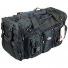"22"" 2600 cu. in. NexPak Tactical Duffel Range Bag TF122 BK BLACK"