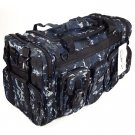 "22"" 2600 cu. in. NexPak Tactical Duffel Range Bag TF122 DMBK Navy Blue Digi Camo"