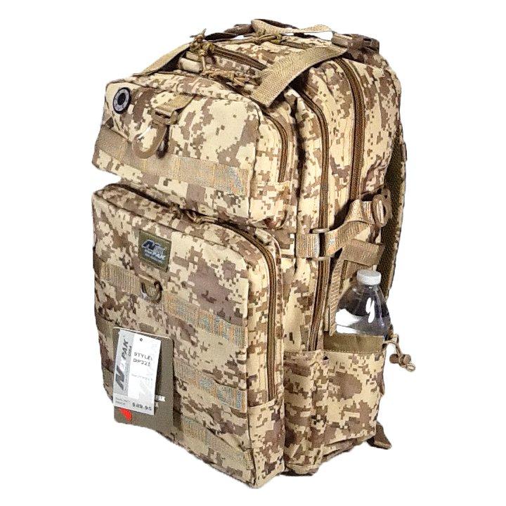 """21"""" 2000 cu.in. NexPak Hunting Camping Hiking Backpack DP321DMTAN DIGI CAM (TAN)"""