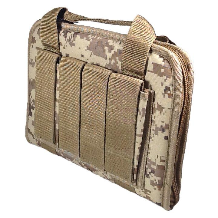 12 inch NexPak Soft Pistol Case SRB201DMTAN Digital Camouflage (Tan)