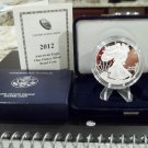 2012 W Proof American Silver Eagle w/OGP