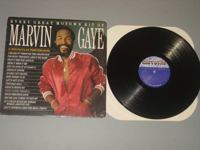 marvin gaye every great motown hit of marvin gaye motown lp 83