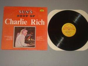 charlie rich sun's best of charlie rich sun135 sun lp 1974