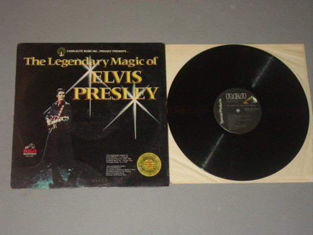 elvis presley legendary magic of elvis presley rca special products lp