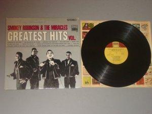 smokey robinson & the miracles greatest hits vol 2 ts 280 tamla lp 1968