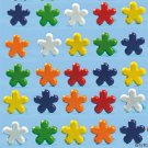 Colorful Mini Flower Brads for Scrapbooking