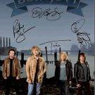Bon Jovi Autographed Signed Beach Poster
