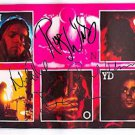 Pink Floyd Autographed Signed Live Pictures Poster