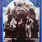 Grateful Dead Autographed Signed Ridin That Train Poster