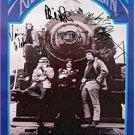 Grateful Dead Autographed Signed Ridin That Train Poster