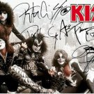 Kiss Autographed Signed New York City Poster