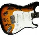 Clapton Vanhalen Dylan Slash Eagles Toby Keith Autographed Signed Guitar