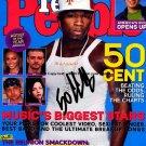 50 Cent Autographed Preprint Signed Photo