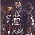 50 Cent G-UNIT Autographed Preprint Signed Photo