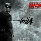 50 Cent GetRichGun Autographed Preprint Signed Photo