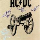 AC/DC Autographed Preprint Signed Photo