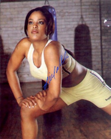 Laila Ali Autographed Preprint Signed Photo