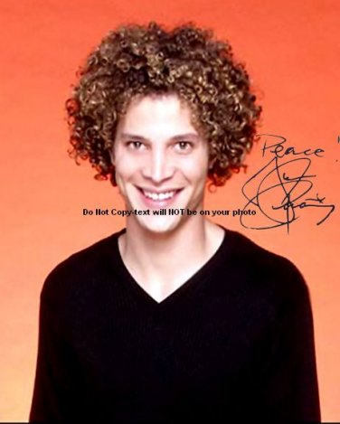 American Idol Justin Guarini Autographed Preprint Signed Photo