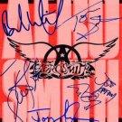 AeroSmith Autographed Preprint Signed Photo