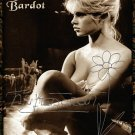 BRIDGETTE Bardot Autographed Preprint Signed Photo