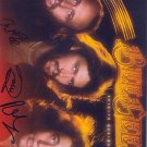 Bee Gees Autographed Preprint Signed Photo