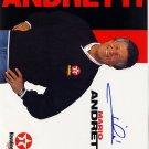 Mario Andretti Autographed Preprint Signed Photo