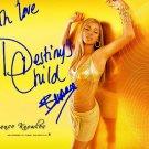 Beyonce Knowles Autographed Preprint Signed Photo