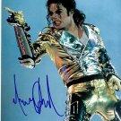 JacksonMichaelc Autographed Preprint Signed Photo