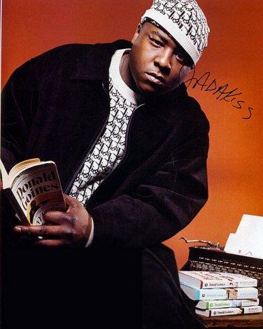 Jadakiss.obssessed Autographed Preprint Signed Photo
