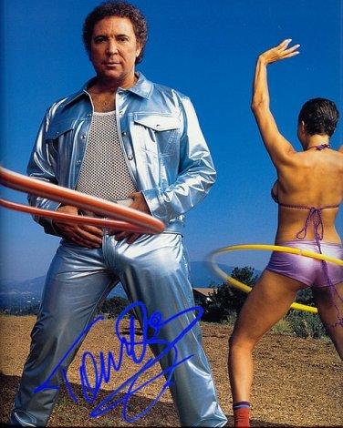 JonesTom Autographed Preprint Signed Photo