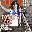 LeeTommy Autographed Preprint Signed Photo